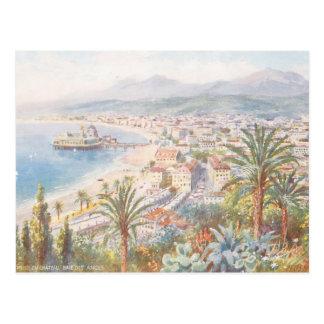 Hermosa vista Niza de Francia Tarjeta Postal