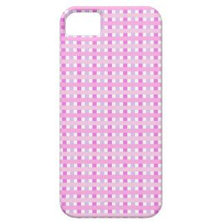 Hermosas lineas rosas iPhone SE/5/5s case