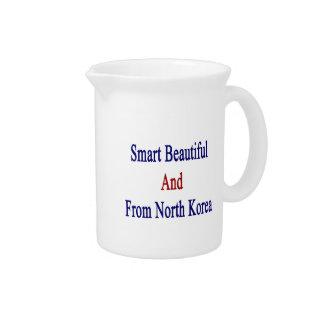Hermoso elegante y de Corea del Norte Jarrón