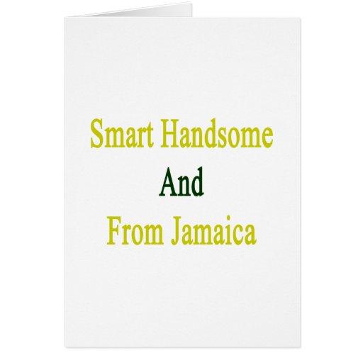Hermoso elegante y de Jamaica Tarjetón