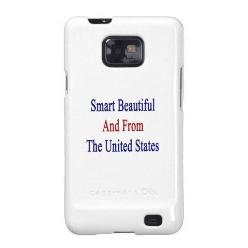 Hermoso elegante y de los Estados Unidos Samsung Galaxy SII Carcasas