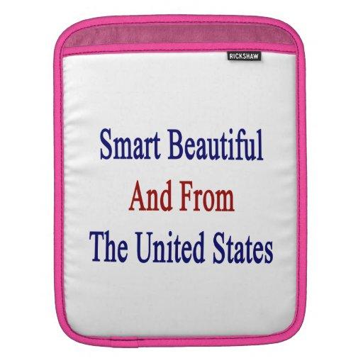 Hermoso elegante y de los Estados Unidos Funda Para iPads