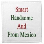 Hermoso elegante y de México Servilletas