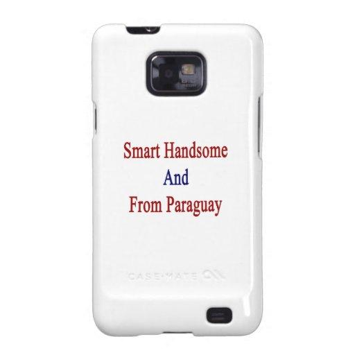 Hermoso elegante y de Paraguay Galaxy SII Fundas