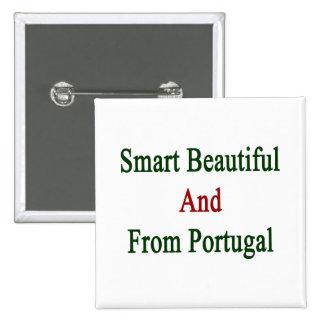 Hermoso elegante y de Portugal Pins