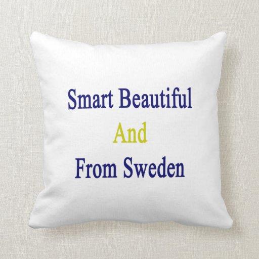 Hermoso elegante y de Suecia Cojines
