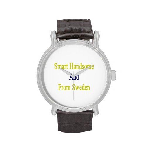 Hermoso elegante y de Suecia Reloj