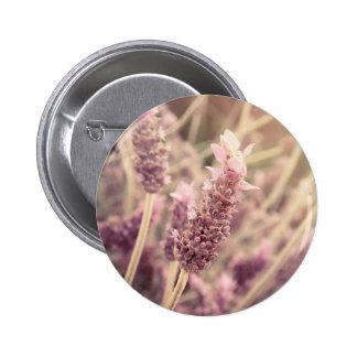 Hermoso femenino de las flores púrpuras bonitas pins