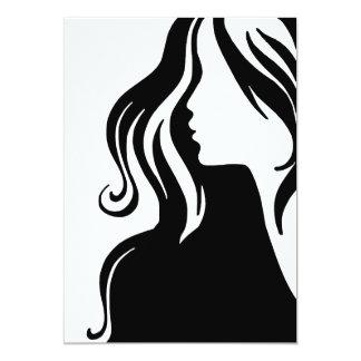 hermoso femenino del chica del retrato de la mujer comunicados personales