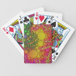 Hermoso loco baraja de cartas
