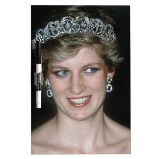 ¡Hermoso! Princesa de Gales de HRH Tablero Blanco