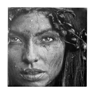 Hermoso sucio de Yolanda Azulejo Cuadrado Pequeño