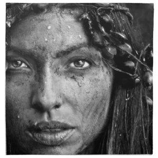 Hermoso sucio de Yolanda Servilleta Imprimida