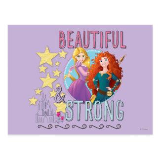 Hermoso y fuerte postales