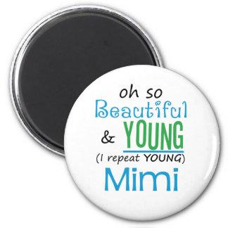 Hermoso y jóvenes Mimi Iman De Nevera