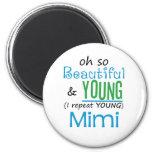 Hermoso y jóvenes Mimi Imanes
