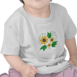 Hermosos Girasoles T-shirts