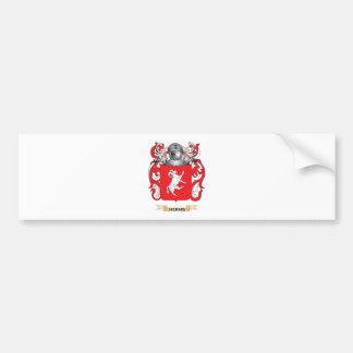 Herms Coat of Arms (Family Crest) Car Bumper Sticker