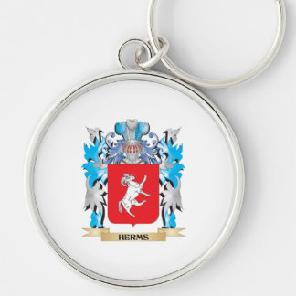 Herms Coat of Arms - Family Crest Keychains
