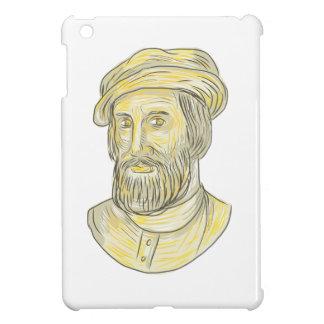 Hernan Cortes de Monroy Drawing iPad Mini Covers