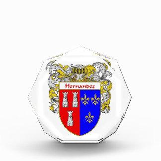 Hernandez Coat of Arms Family Crest Award