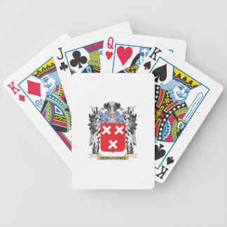 Hernandez Coat of Arms - Family Crest Bicycle Playing Cards