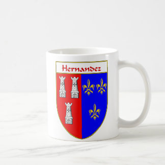 Hernandez Coat of Arms/Family Crest Coffee Mug