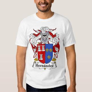 Hernandez Family Coat of Arms T-shirt