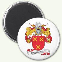 Hernandez Family Crest Magnet