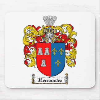 HERNANDEZ FAMILY CREST -  HERNANDEZ COAT OF ARMS MOUSE PAD