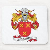 Hernandez Family Crest Mousepad