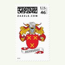 Hernandez Family Crest Stamps