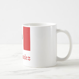 Hernandez Mexican Flag Coffee Mug