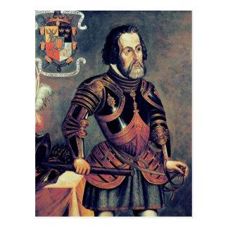 Hernando Cortes Postcard