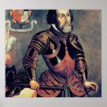 Hernando Cortes Print