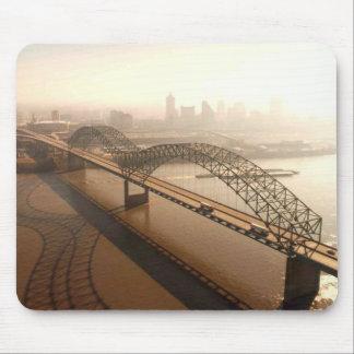 Hernando de Soto Bridge in Memphis Mouse Pad
