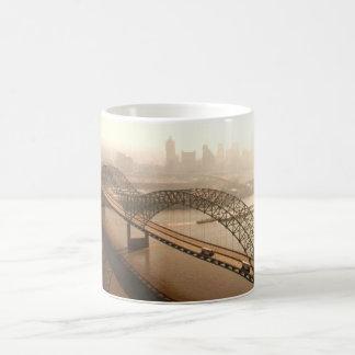 Hernando de Soto Bridge in Memphis Mugs