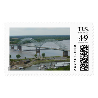 Hernando de Soto Bridge (lrg) Postage