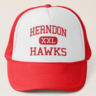 herndon - hawks - middle school - Herndon Virginia Trucker Hat