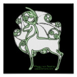 Herne Deer Celtic Art Prints