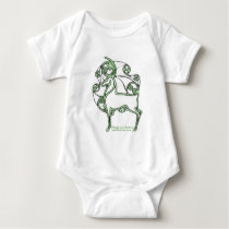 Herne Deer Celtic Infant Crawler Baby Bodysuit