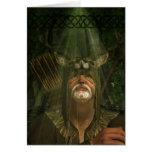 Herne el cazador - tarjeta de felicitación del art