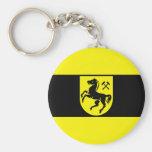 Herne, Germany flag Keychain