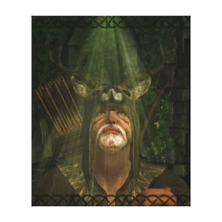 Herne The Hunter Canvas Print