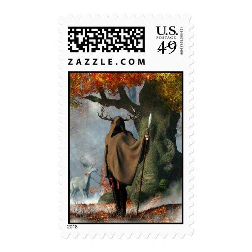 Herne the Hunter Postage Stamps