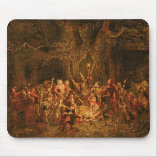 Herne's Oak from 'The Merry Wives of Windsor' by W Mouse Pad