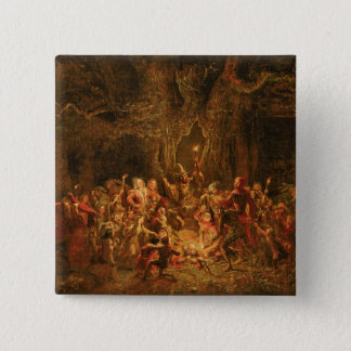 Herne's Oak from 'The Merry Wives of Windsor' by W Pinback Button