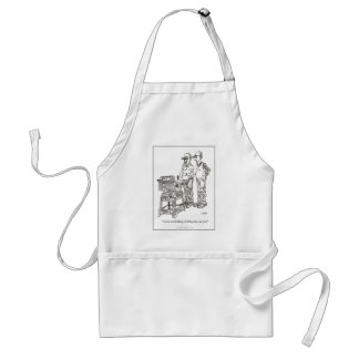 Hernia Cartoon Apron