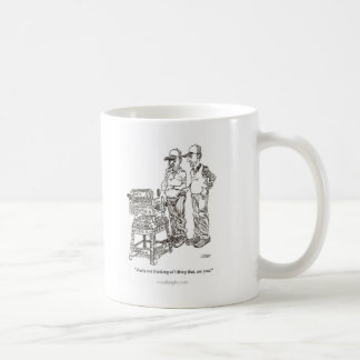 Hernia Cartoon Mug