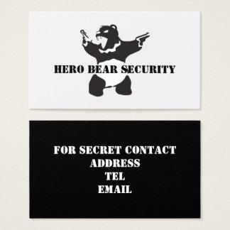 Hero Bear Security Business Card